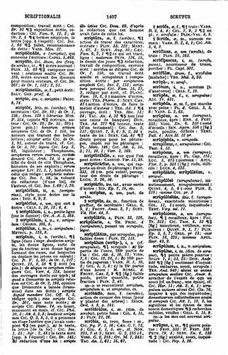 *Dictionnaire Gaffiot latin-français*, Paris: Hachette, 1934
