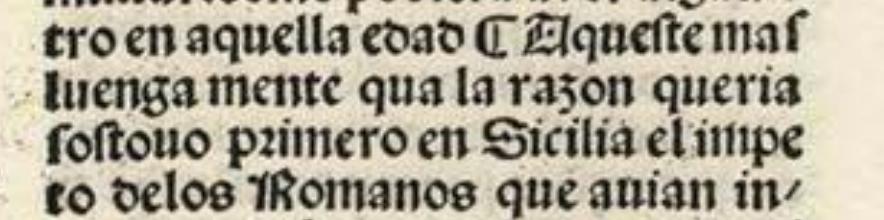 Ejemplo de una corrección editorial. [*La primera y segunda parte de Plutharcho* / traducida por Alfonso de Palencia, Sevilla, 1491. BNE, Inc/314-Inc/315, f. 165v](http://bdh-rd.bne.es/viewer.vm?id=0000005043&page=1) \label{L5_corr}